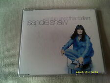 SANDIE SHAW - NOTHING LESS THAN BRILLIANT - UK CD SINGLE