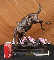 Remington Horse Wicked Pony Lost Wax Bronze Sculpture Statue Figurine Figure Art