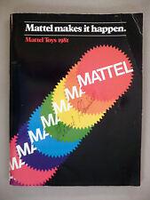Mattel CATALOG - 1981 -- toys