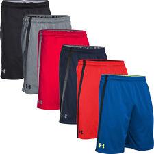 Under Armour Blue Mens USA Size Medium M Drawstring Athletic Shorts 107