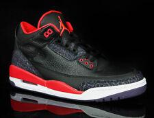 Nike Air Jordan 3 Retro * Bright Crimson * OG 1 Bred 4 Taille UE 43/us 9.5/uk 8.5 * New *