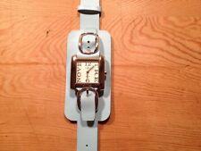 Nuevo - Reloj Watch Montre EXACTO de Sra. de acero - Movimiento de Cuarzo - New