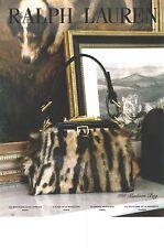 PUBLICITE ADVERTISING  2012  RALPH LAUREN sacs maroquinerie     30812
