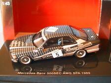 MERCEDES BENZ 500 SEC #5 W126 AMG SPA 1989 KONIG PILSENER AUTOART 68931 1/43