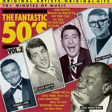 THE FANTASTIC 50'S, VOL. 2 - VARIOUS ARTISTS / CD - NEUWERTIG