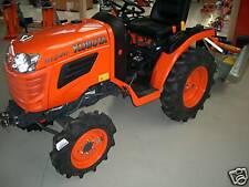 Kubota B1121 Traktor Kleintraktor mit Schlegelmulcher