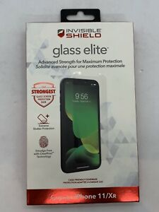 Genuine Zagg InvisibleShield Glass Elite Screen Protector For Apple iPhone 11/XR
