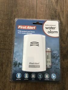 First Alert Water Alarm battery Powered Brand New Sealed WA100