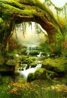 5x7ft Fairy Forest Scenic Vinyl Photography Backgrounds Studio Backdrops Props