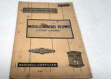 HORWOOD BAGSHAW MOULDBOARD PLOWS 3 Point Linkage Instruction Book