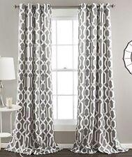 lush dcor polyester geometric curtains drapes u0026 valances
