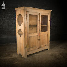 More details for large french pine meat safe circa 1860