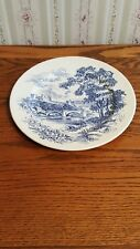 COUNTRYSIDE WEDGEWOOD DINNER PLATE BLUE- 40 AVAILABLE - 5.00 EACH