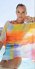 Trina Turk Crystal Cove Swim Cover Up Tunic Top Sz M Nwt $128