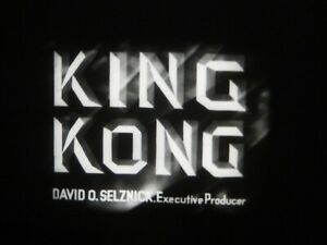 """16mm Feature  """" King Kong """" Original print with outtakes NM Fuji print"""