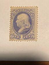 USA - 1870-82 1 c. B. FRANKLIN. MINT