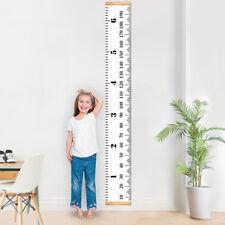 Wooden Kids Growth Chart Children Room Decor Wall Hanging Height Measure Ruler