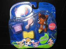 NEW 2007 Littlest Pet Shop Fuzzy Horse Sportiest #627 Hasbro LPS
