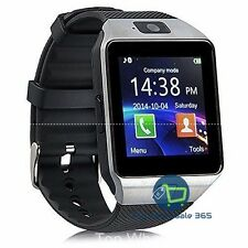 """Dz09 1.56"""" Tft Lcd Touch Screen Wrist Smartwatch Bluetooth Gsm Sim Android iOs"""