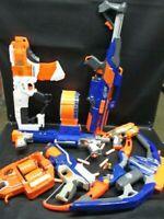 Nerf Bundle Lot Various Guns Rifles Pistols Blasters Darts -Lots of Elite! (ARE)