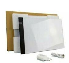 *UK SELLER* A4 LED Light Pad UK plug and USB, tracing pad, drawing pad
