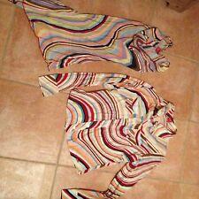 2 Teile Esprit Bluse,Tunika Top bunt Gr XS 34 36 164 Mädchen Hippie Sixty Style