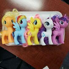 My Little Pony set Hasbro Toys 6 in C-029A 2016 Rairity Rainbow Dash fluttershy