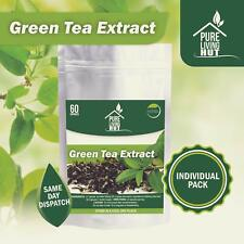 Green Tea Extract Capsules ~ All Natural Detox ~ Promo Price