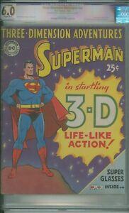 Three Dimension Adventures # NN CGC 6.0 RESTORED Superman Origin Retold 3D 1953