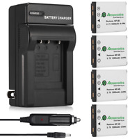 NP-45 NP-45A NP45 Battery + Charger For Fujifilm FinePix XP10 XP60 J10 J20 J100