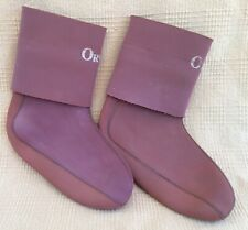 Orvis Mens Red Rubber Neoprene Wading Fishing Rain Boot Liners Size Large VGUC