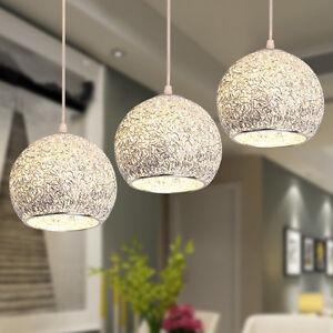 Bar Lamp Kitchen Pendant Light Room Chandelier Lighting Aluminum Ceiling Lights