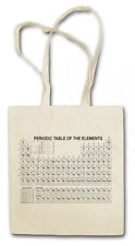 PERIODIC TABLE OF ELEMENTS HIPSTER BAG - Stofftasche Stoffbeutel Periodensystem