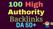 101 High Pr Backlinks On High Domain Authority Sites Da50