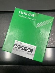 Fujifilm Acros 100 4x5 20 Sheets Expired Cold Stored