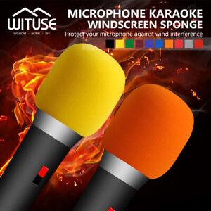 Handheld Stage Microphone Windscreen Sponge Foam Mic Cover Karaoke DJ Sales B1B