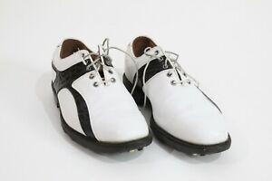 Footjoy Optiflex 2 Icon Black and White Golf Shoes