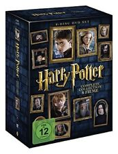 Harry Potter Komplettbox Teil 1 - 7.2 Hülle+Cover+Box DvD Neu+in Folie