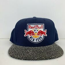 Mitchell & Ness New York Red Bulls Snapback Hat MLS Soccer Wool Blend