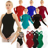 Adult Women Lace Leotard Ballet Dance Dress Contemporary Lyrical Skating Costume