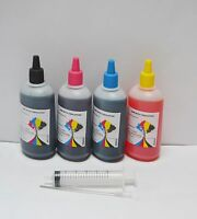 Bulk 400ml refill ink for Brother inkjet printer 4 colors