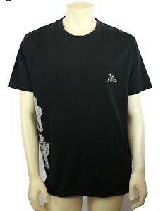 JC de Castelbajac Men's Black Graphic Print Shirt Size 3XL Retail
