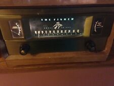 Fisher Tube Tuner Model FM90X Mono With Blonde Cabinet W/MPX out