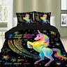 Bedding Set Unicorn Single Duvet Cover Double King Size Quilt Cover Pillow Cases