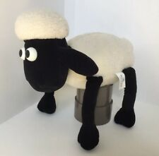 Vintage 1989 Wallace & Gromit Shaun The Sheep Cuddly Soft Toy Boots