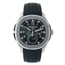 Patek Philippe 5164 Aquanaut Dual Time Steel & Rubber Watch Box/Papers 5164A