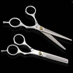 "6"" PROFESSIONAL HAIR CUTTING & THINNING SCISSORS SHEARS HAIRDRESSING SET"