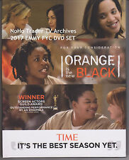 2017 NEW EMMY DVD SET ORANGE IS THE NEW BLACK COMPLETE SEASON 4 KATE MULGREW oop