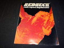 REDNECK le salopard franco nero  dossier presse cinema 1972