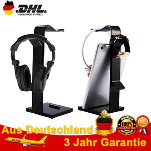 Kopfhörer Halter Headset Halterung Aufhänger Ständer Kopfhörerständer DE